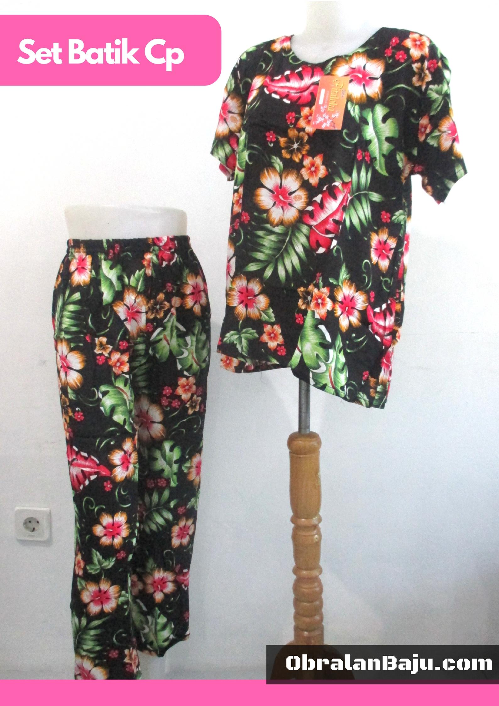 konveksi baju tidur batik