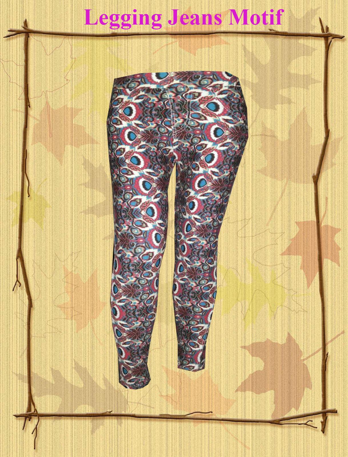 Legging Jeans motif1