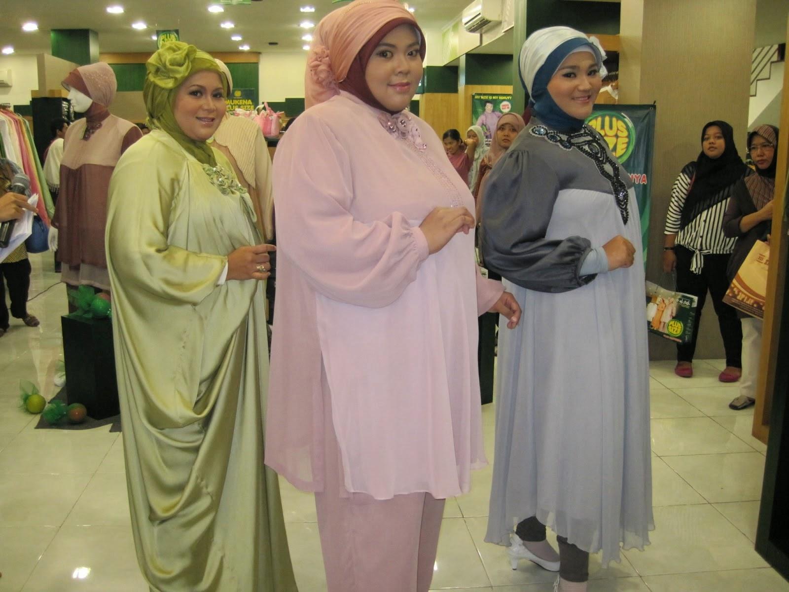 Busana Muslim Yang Cocok Untuk Wanita Yang Badan Gemuk