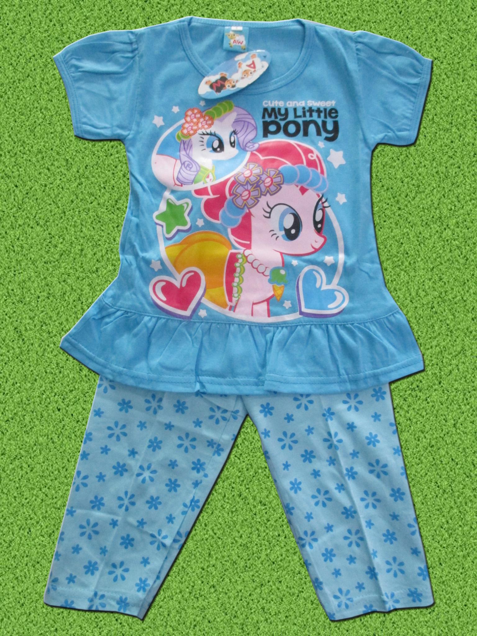 setelan-baju-anak-little-pony