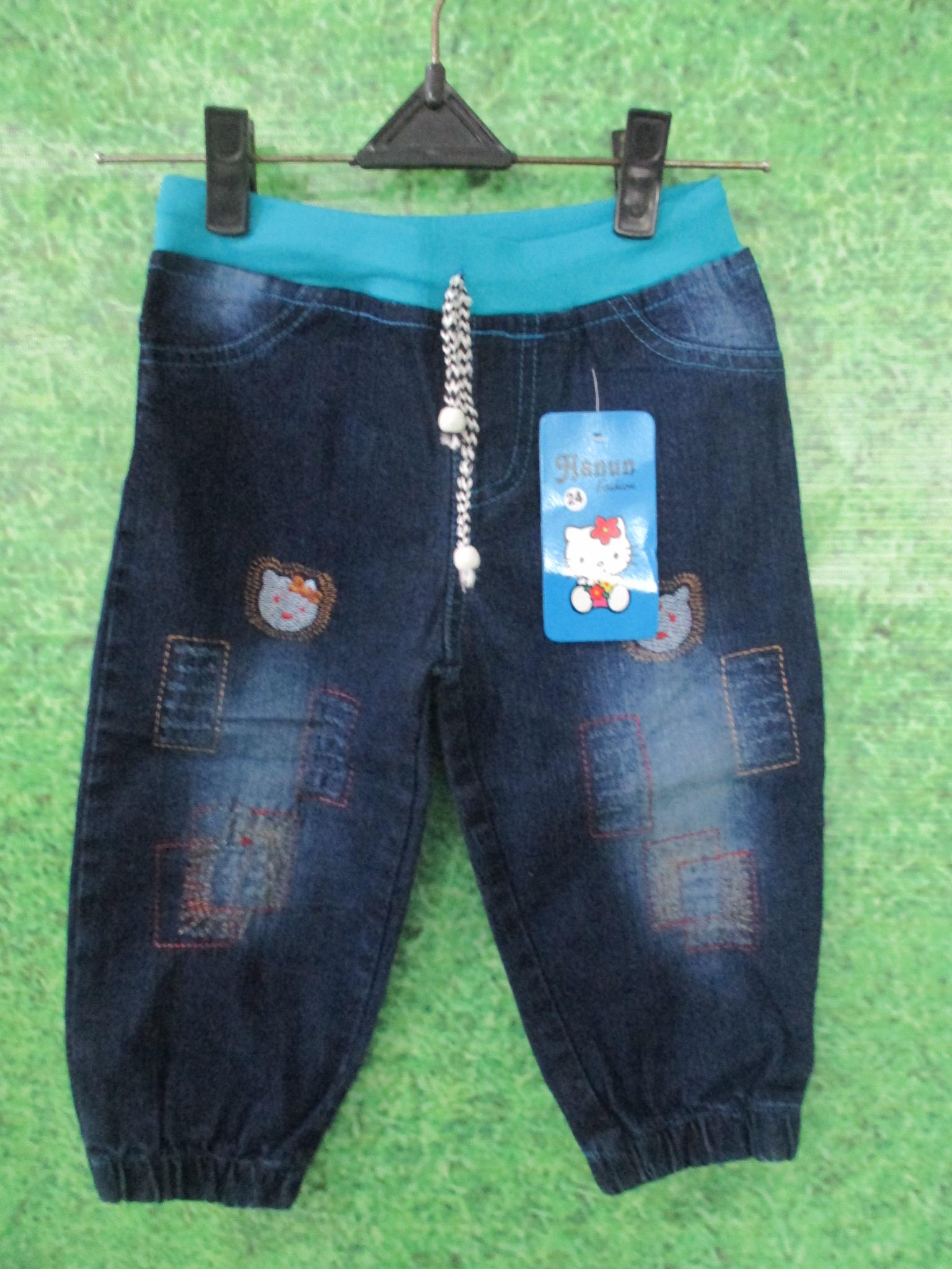 celana jogger jeans anak
