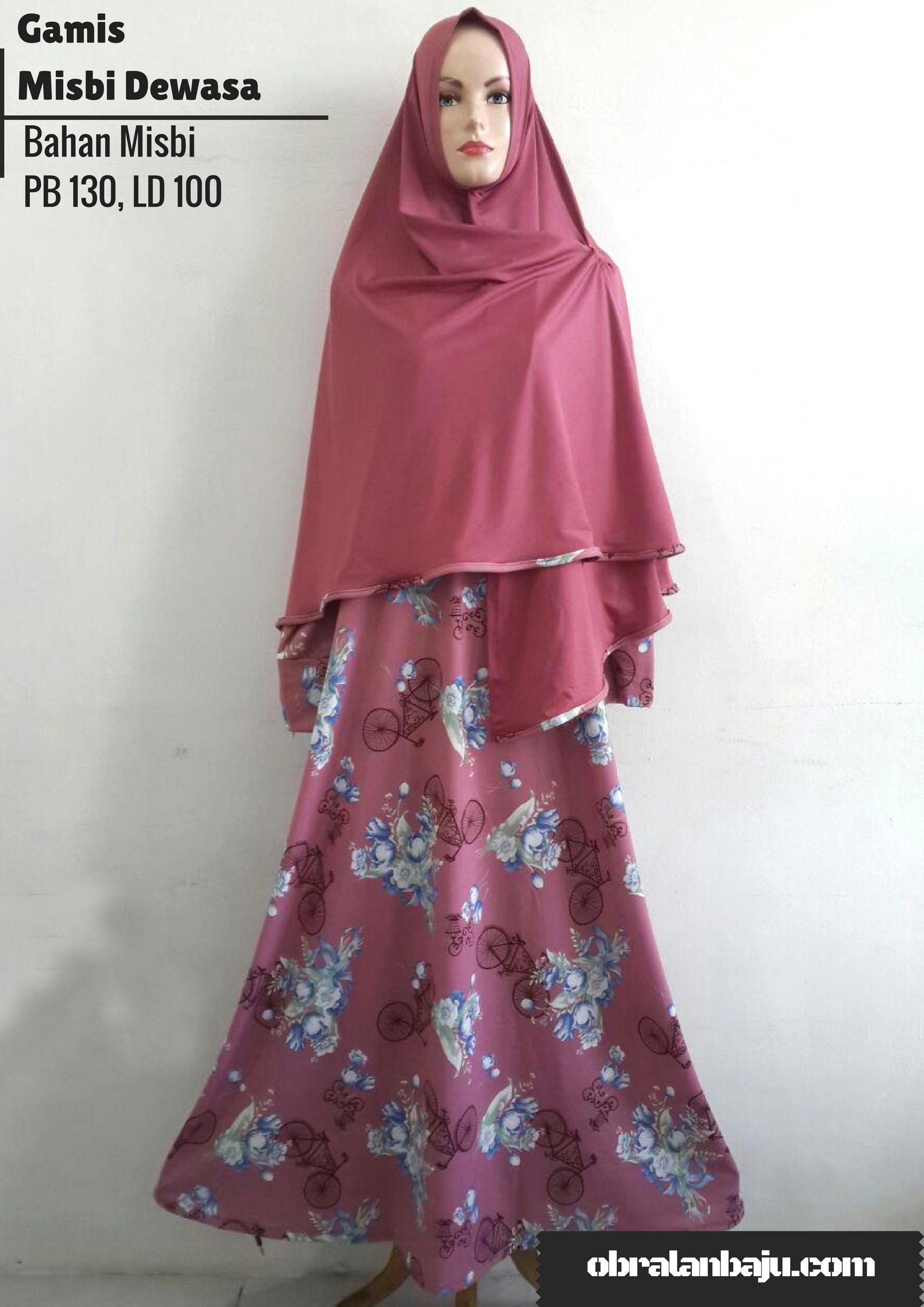ObralanBaju.com Obral Baju Pakaian Murah Meriah 5000 Gamis Misby