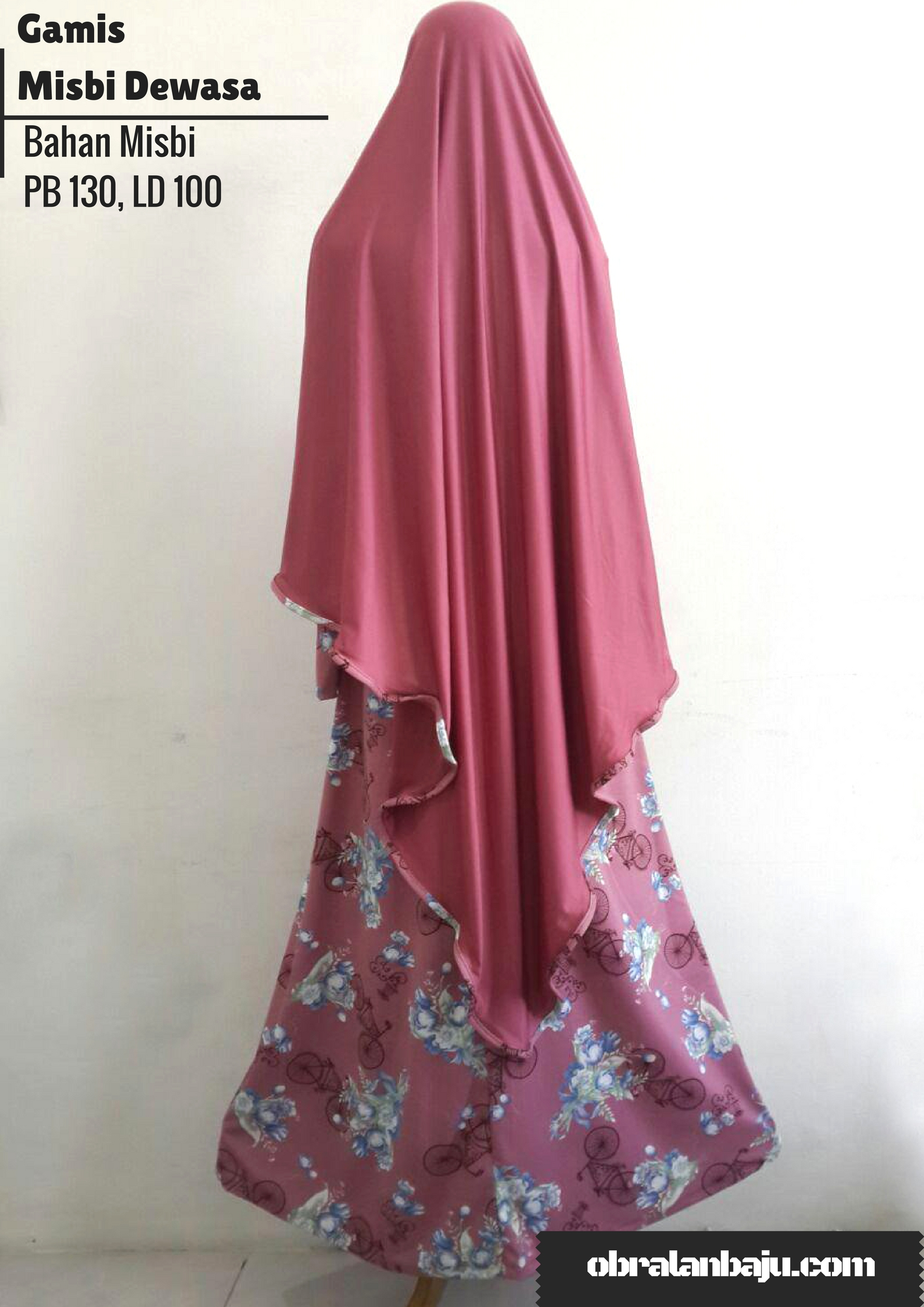 supplier gamis misbi murah