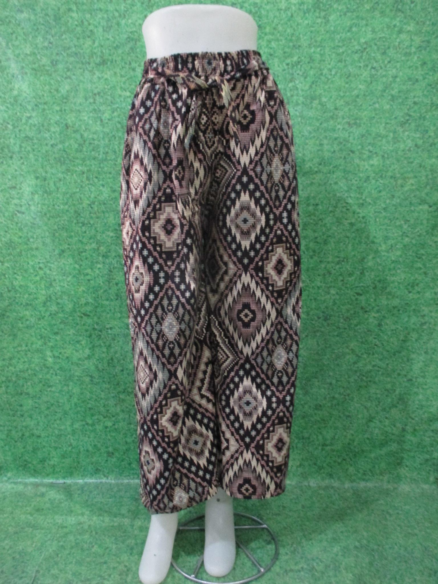 grosir celana kulot batik