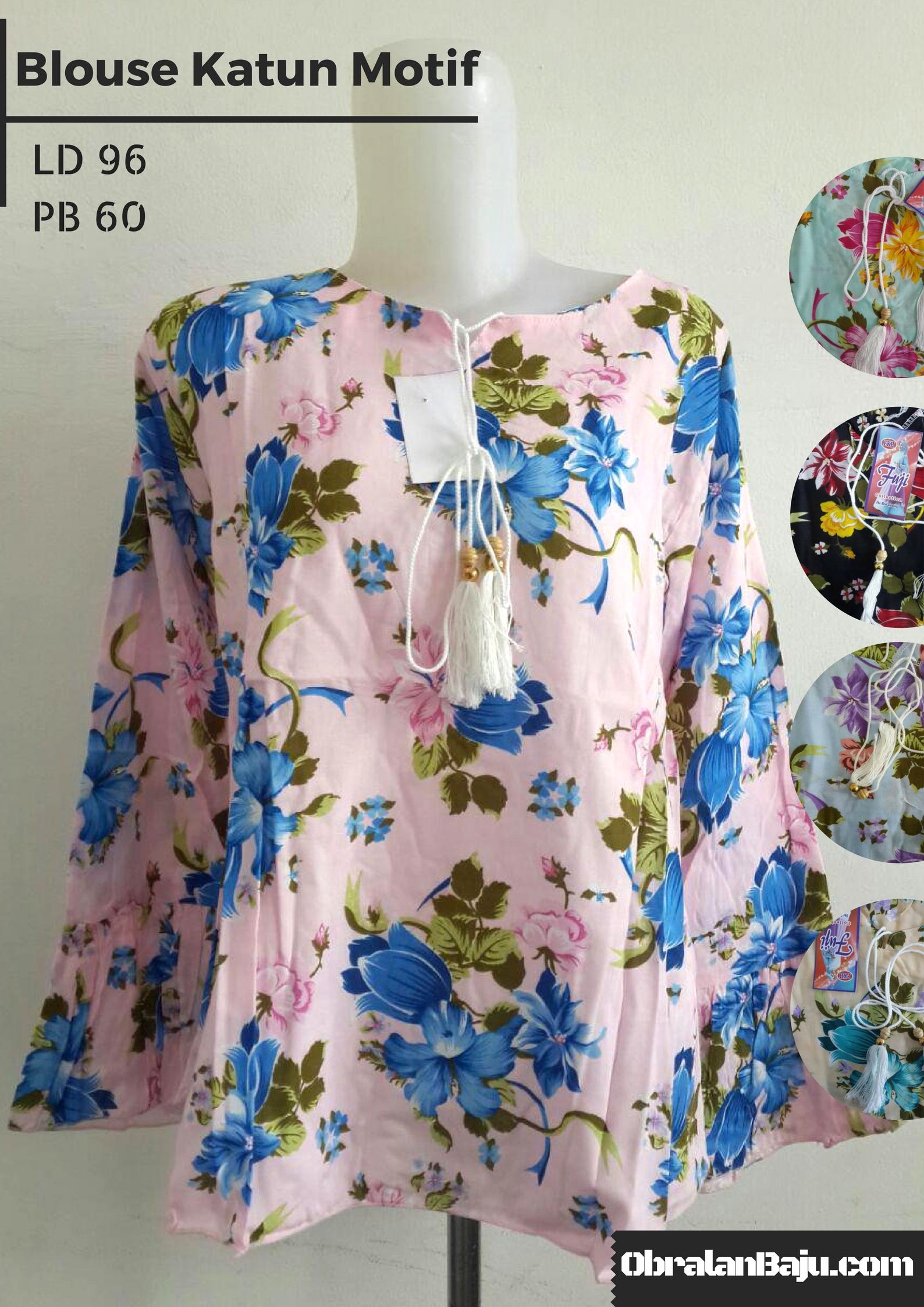 pusat grosir blouse murah