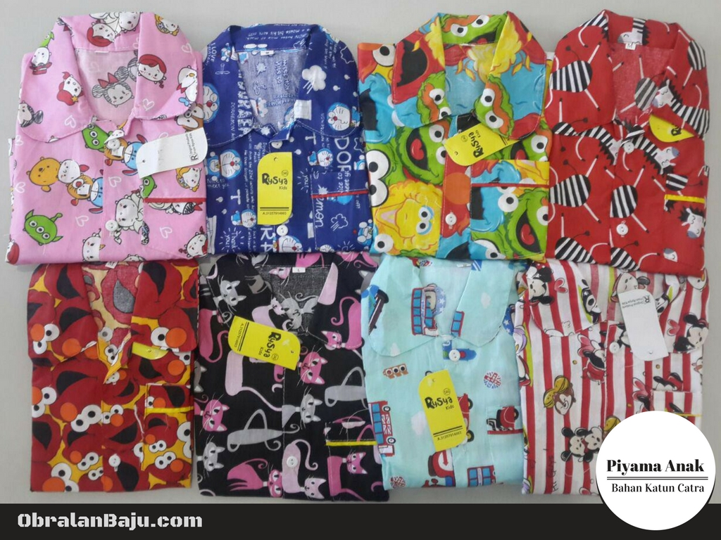 Supplier piyama catra anak murah