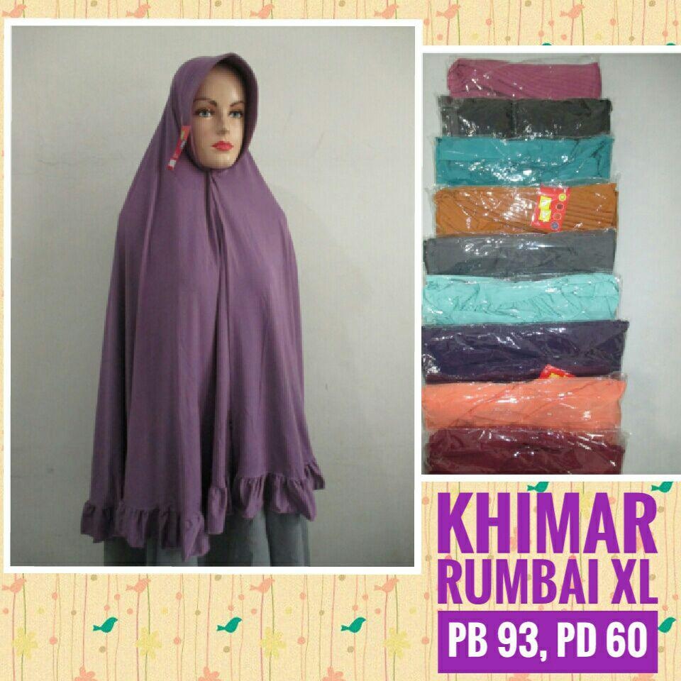 ObralanBaju.com Obral Baju Pakaian Murah Meriah 5000 Khimar Rumbai XL
