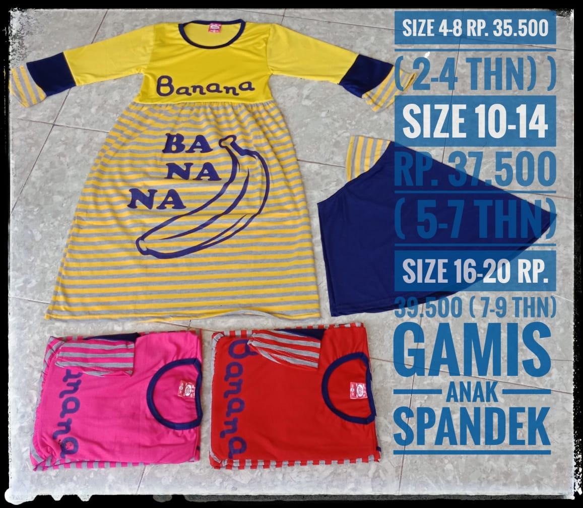 ObralanBaju.com Gamis Spandek
