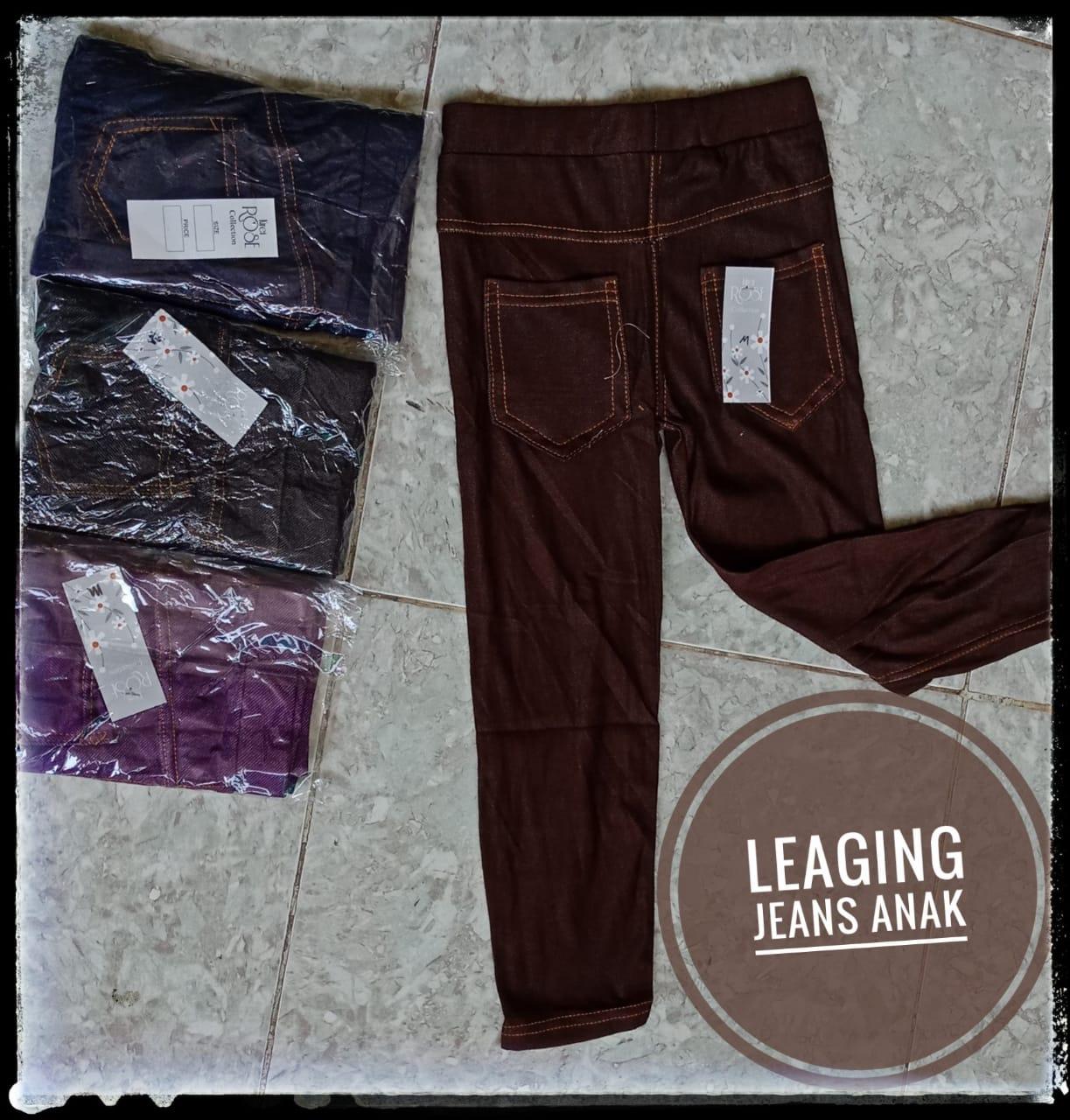 ObralanBaju.com Obral Baju Pakaian Murah Meriah 5000 Leaging Jeanss Anak