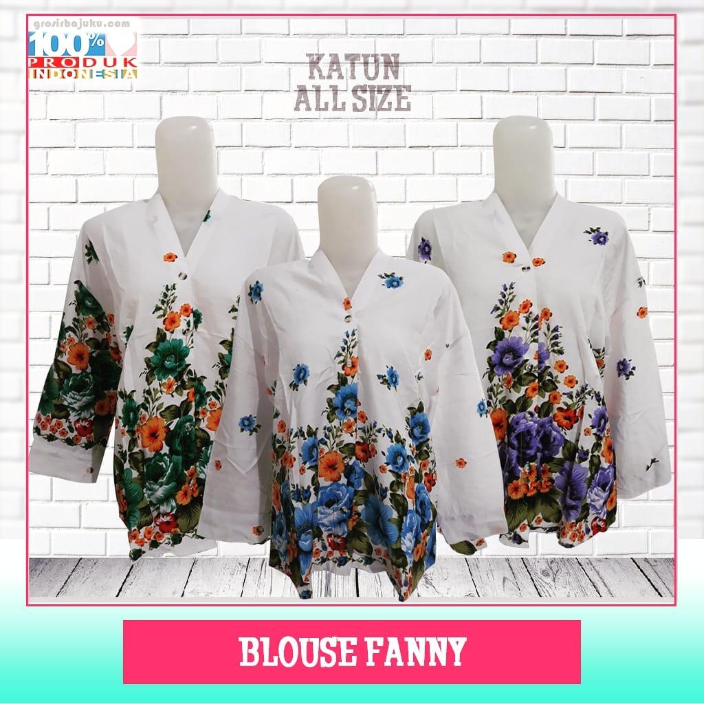 ObralanBaju.com Obral Baju Pakaian Murah Meriah 5000 Blouse Fanny