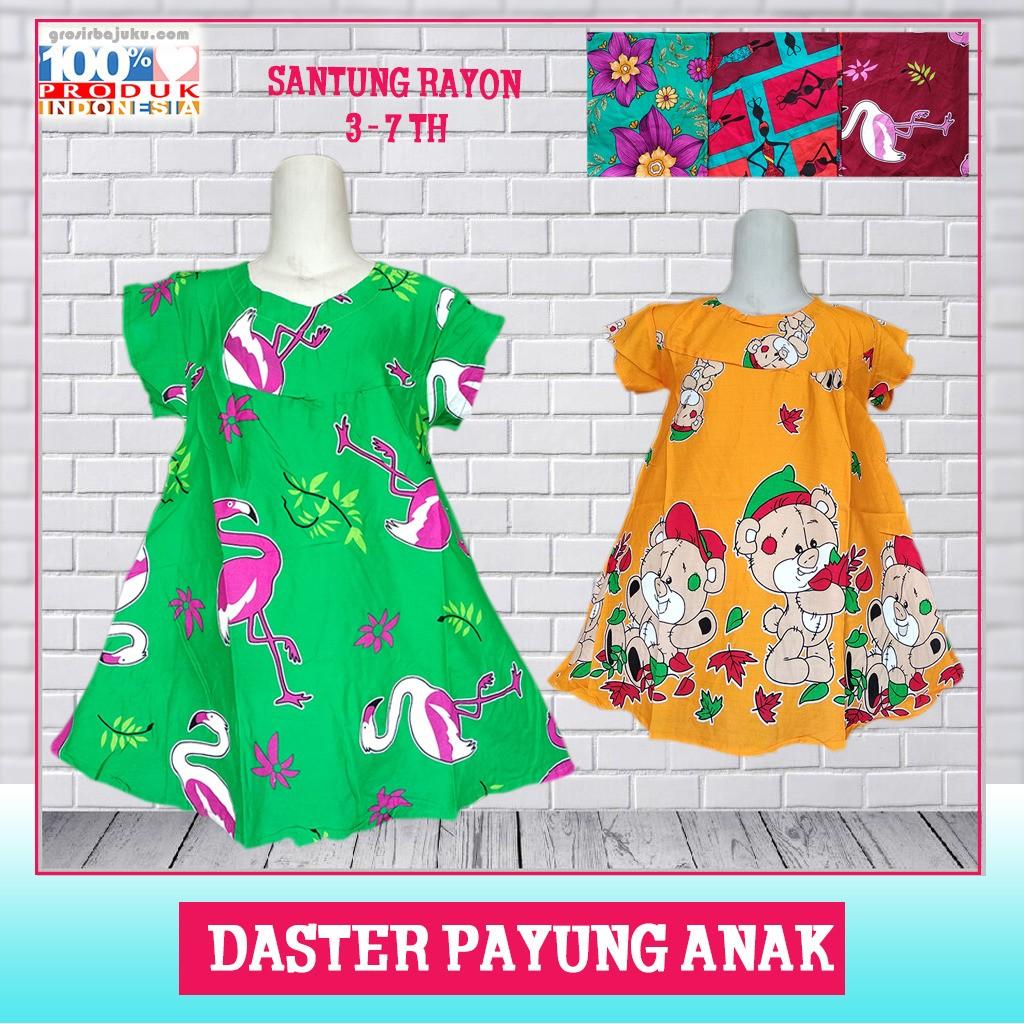 ObralanBaju.com Daster Payung Anak