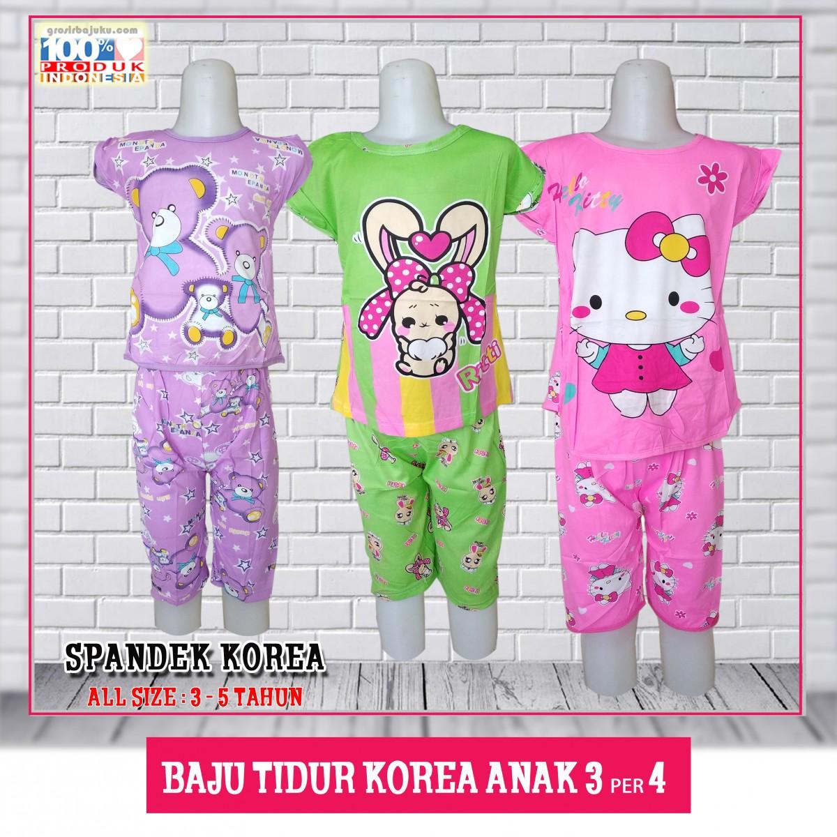 ObralanBaju.com Baju Tidur Korea Anak 3/4