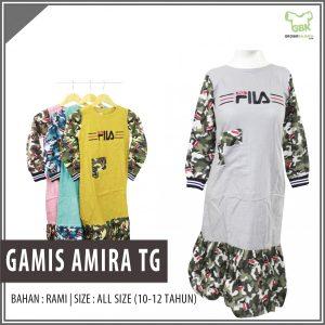 ObralanBaju.com Grosir Gamis Amira Tanggung Murah