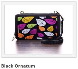 dompet mokamula black ornatum