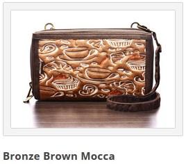 dompet mokamula bronze brown mocca