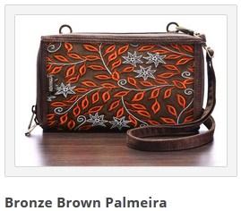 dompet mokamula bronze brown palmeira