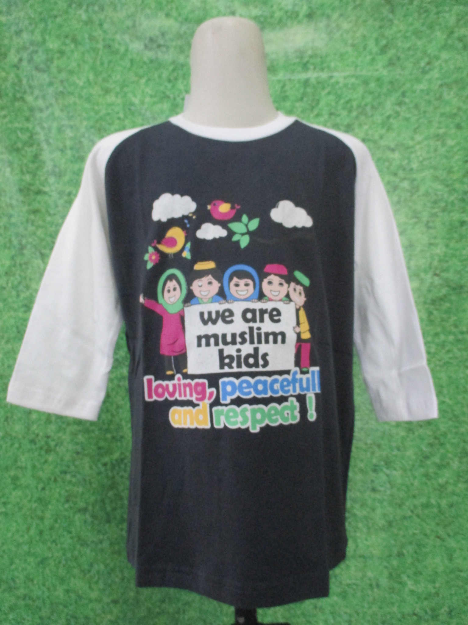 ObralanBaju.com Kaos Muslim Anak