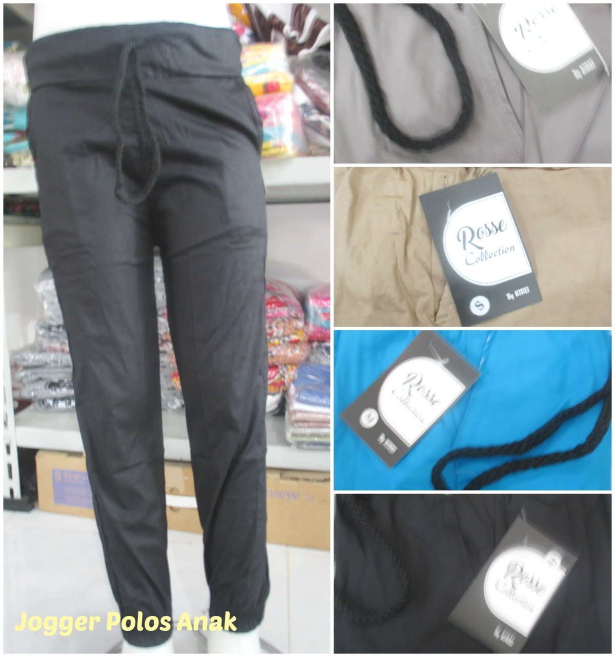 ObralanBaju.com Obral Baju Pakaian Murah Meriah 5000 Celana Kulot Jersey
