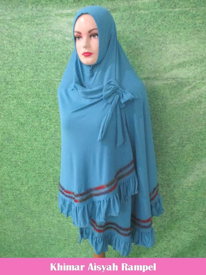 ObralanBaju.com Obral Baju Pakaian Murah Meriah 5000 Khimar Aisyah Rampel