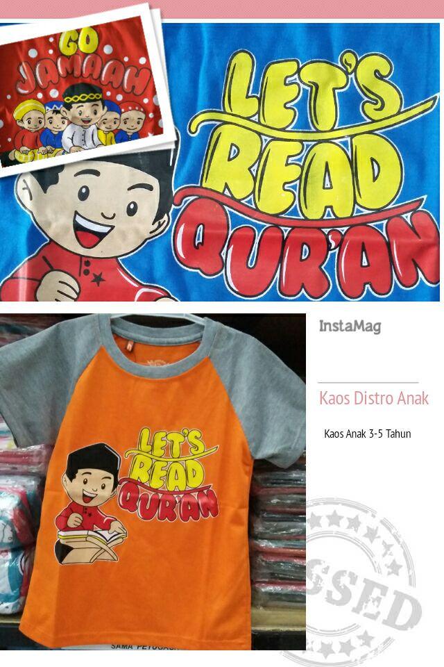 ObralanBaju.com Kaos Distro Anak