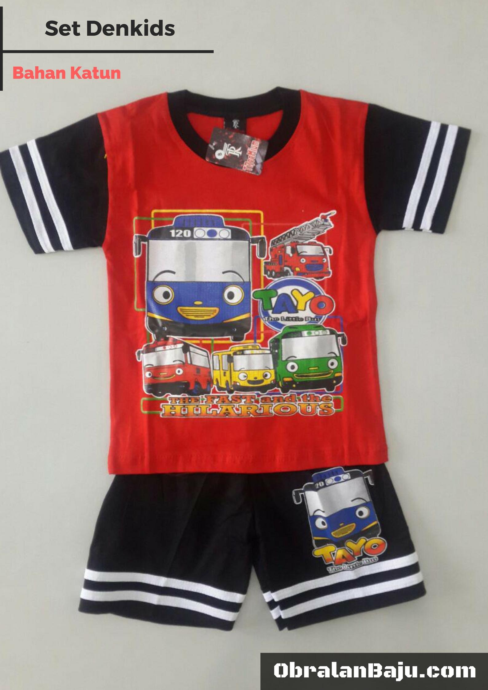 ObralanBaju.com Obral Baju Pakaian Murah Meriah 5000 Set Dens kids