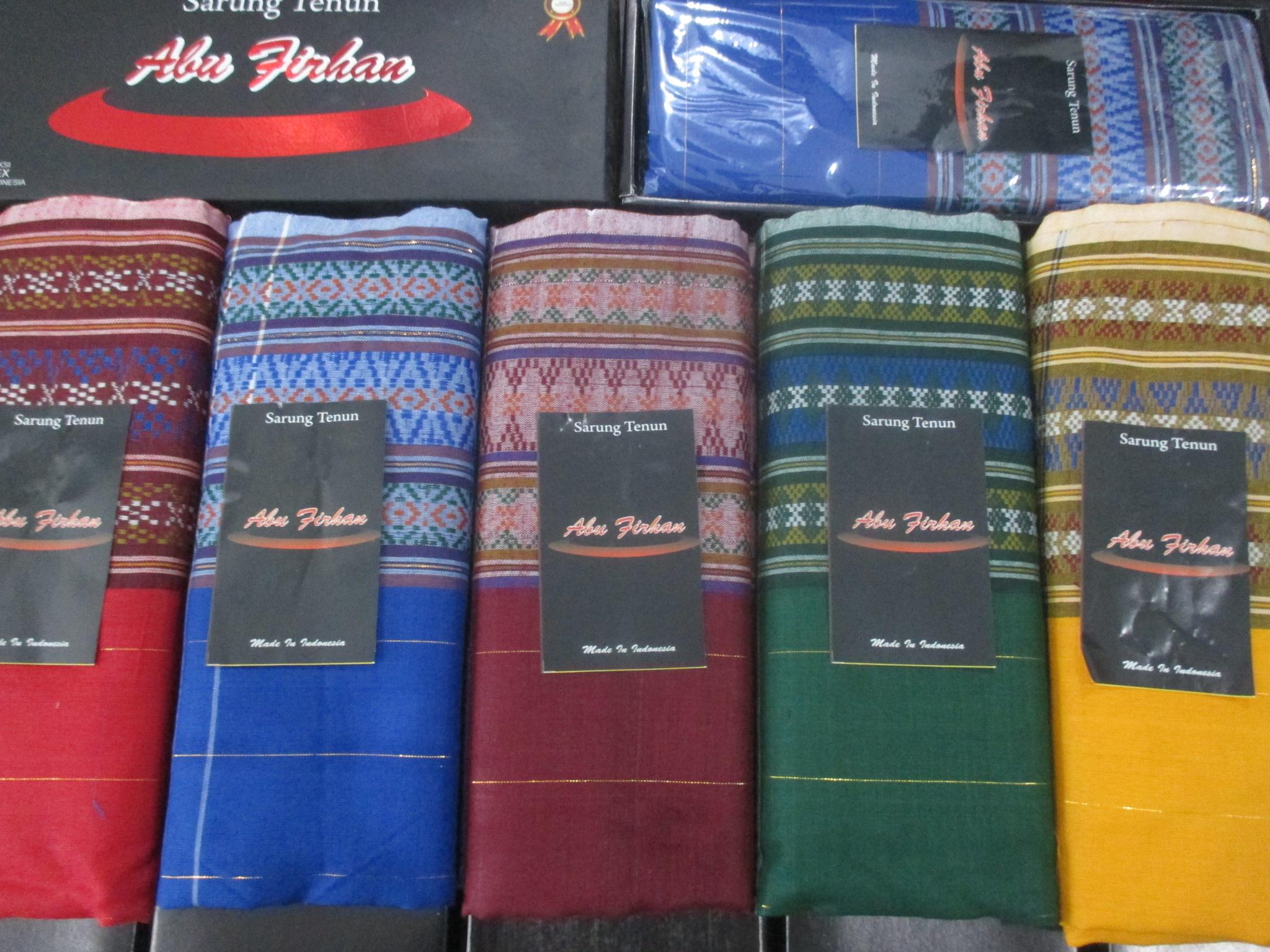 ObralanBaju.com Obral Baju Pakaian Murah Meriah 5000 Sarung Tenun Abu Firhan