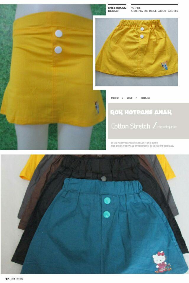 ObralanBaju.com Rok Hotpants Anak