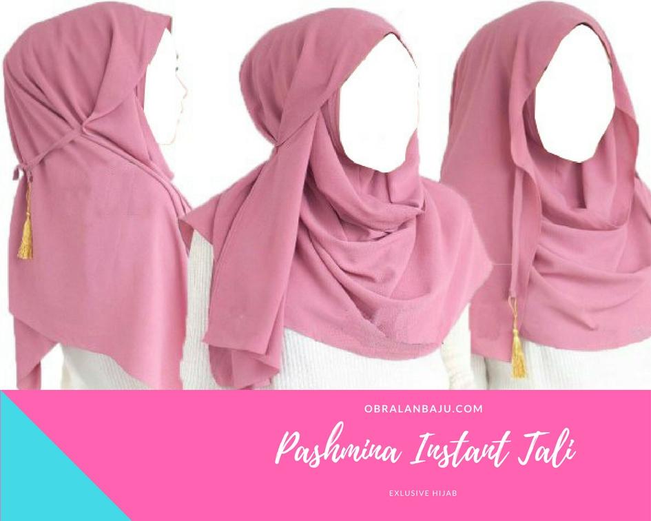 ObralanBaju.com Obral Baju Pakaian Murah Meriah 5000 Pashmina Instant Pet