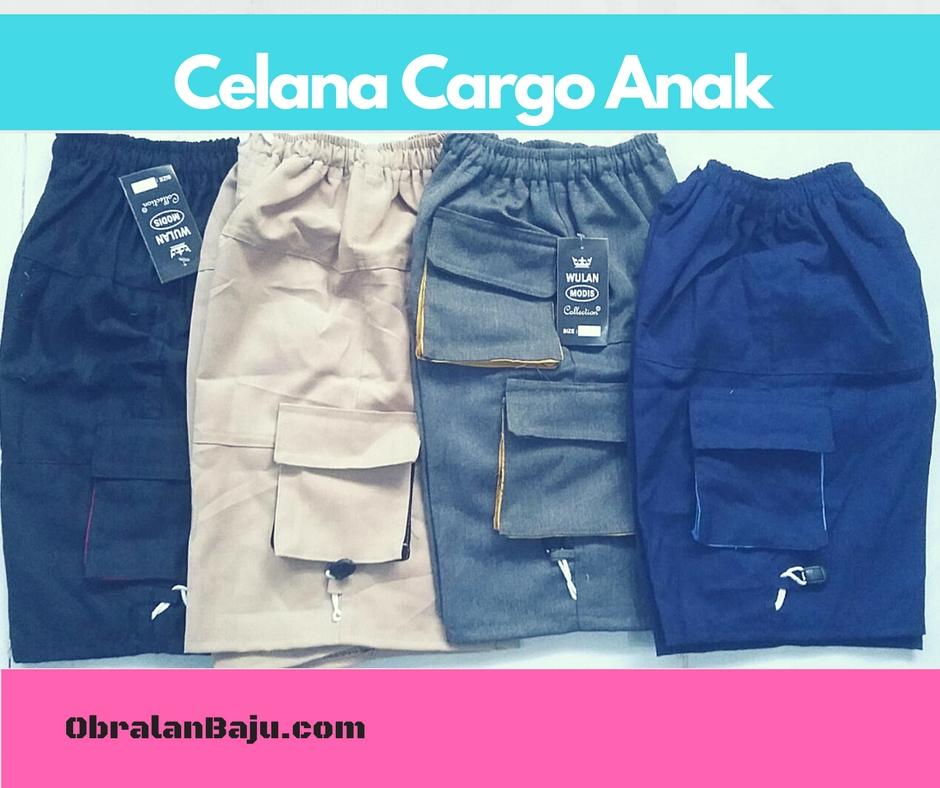 ObralanBaju.com Celana Cargo Anak