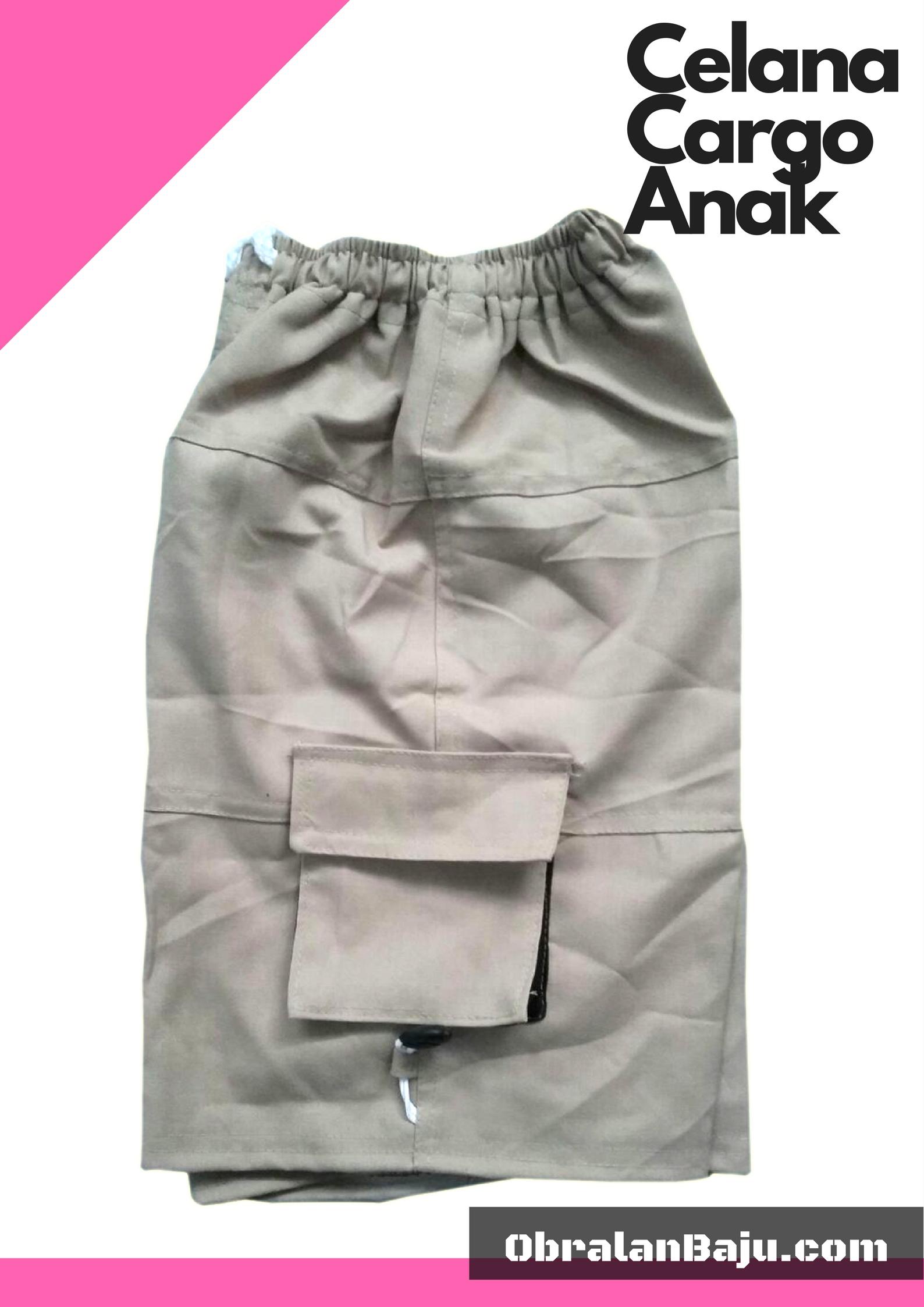 ObralanBaju.com Obral Baju Pakaian Murah Meriah 5000 Celana Cargo Anak