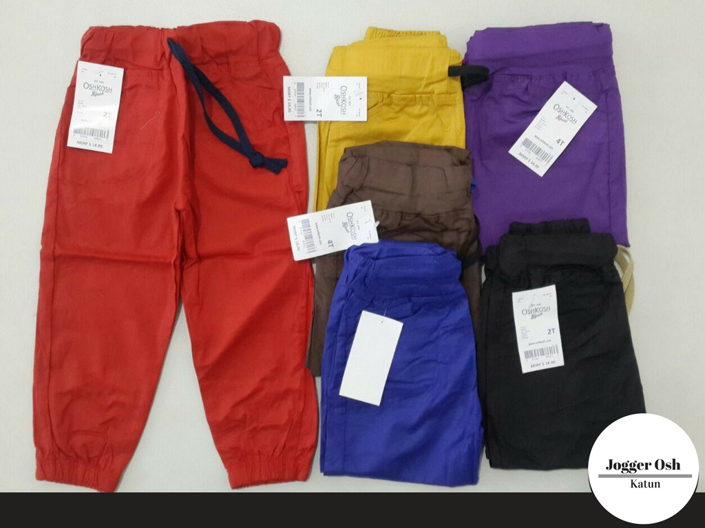 ObralanBaju.com Obral Baju Pakaian Murah Meriah 5000 Jogger Oshkosh Anak