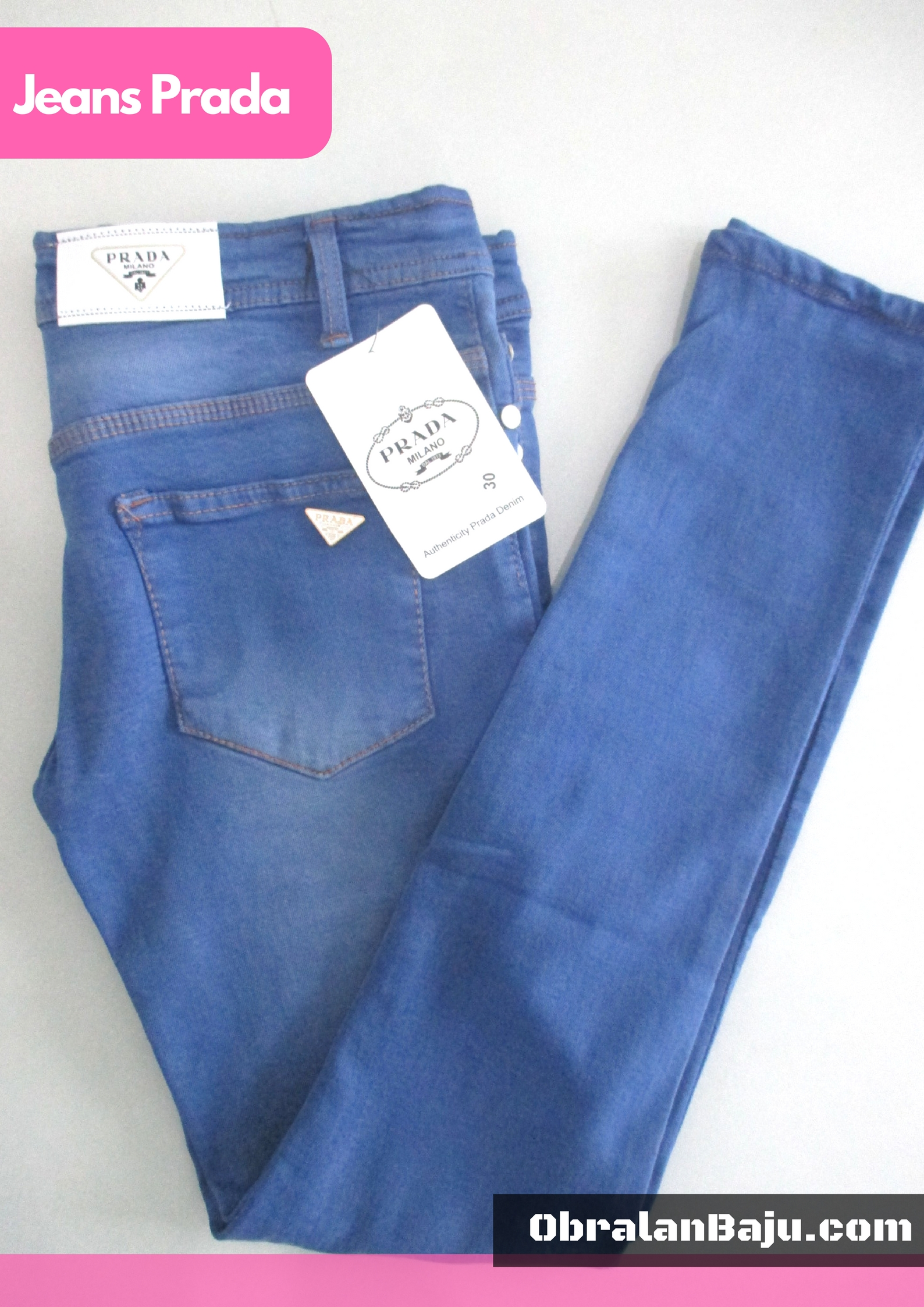 ObralanBaju.com Jeans Prada