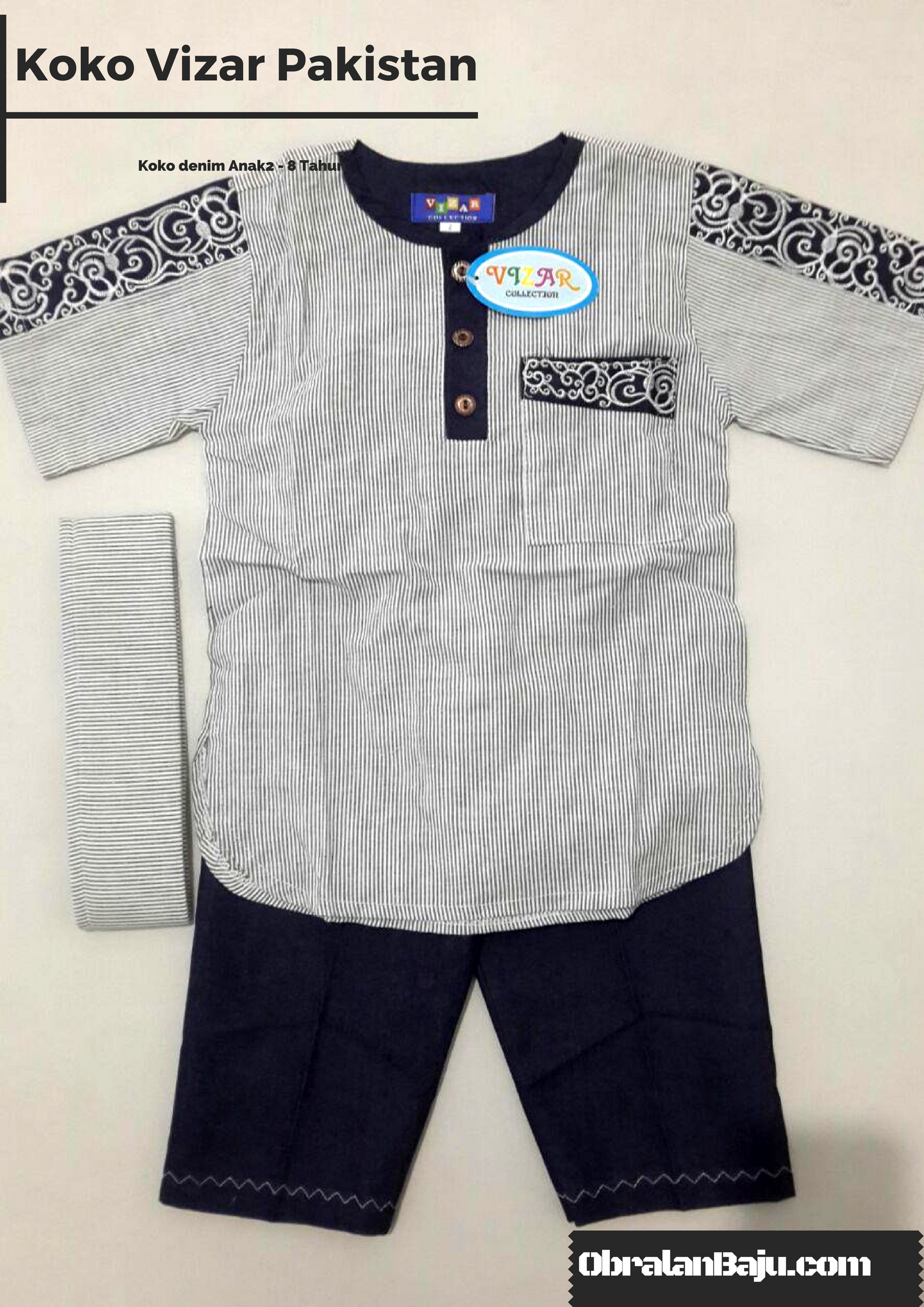supplier kokoa denim anak murah