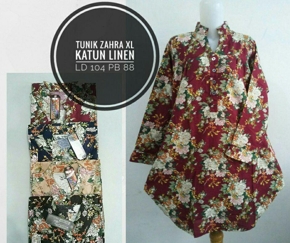 ObralanBaju.com Obral Baju Pakaian Murah Meriah 5000 Tunik Zahra XL