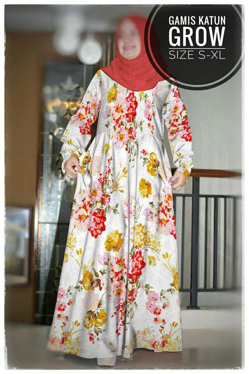 ObralanBaju.com Obral Baju Pakaian Murah Meriah 5000 Gamis Katun Grow