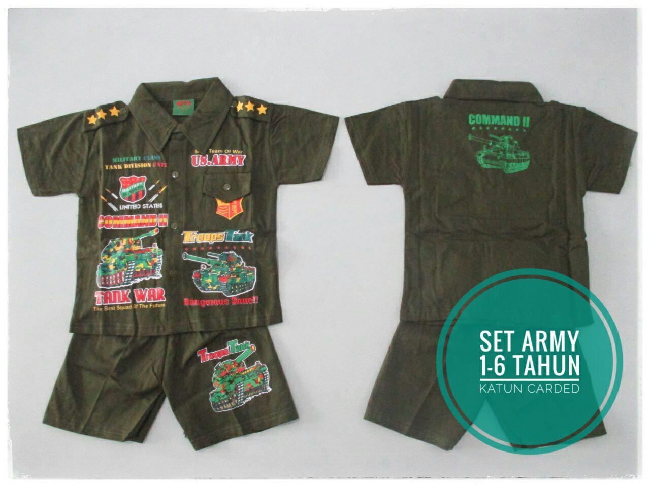 ObralanBaju.com Obral Baju Pakaian Murah Meriah 5000 Set Army