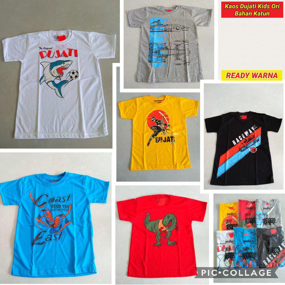 ObralanBaju.com Obral Baju Pakaian Murah Meriah 5000 Kaos Dujati Kids ORI