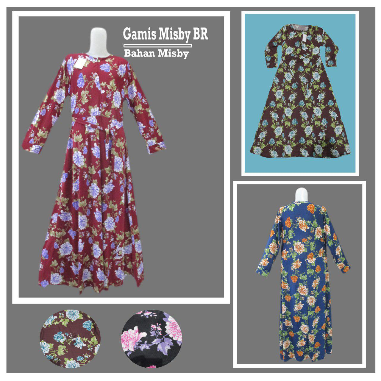 ObralanBaju.com Obral Baju Pakaian Murah Meriah 5000 Gamis Misbey BR