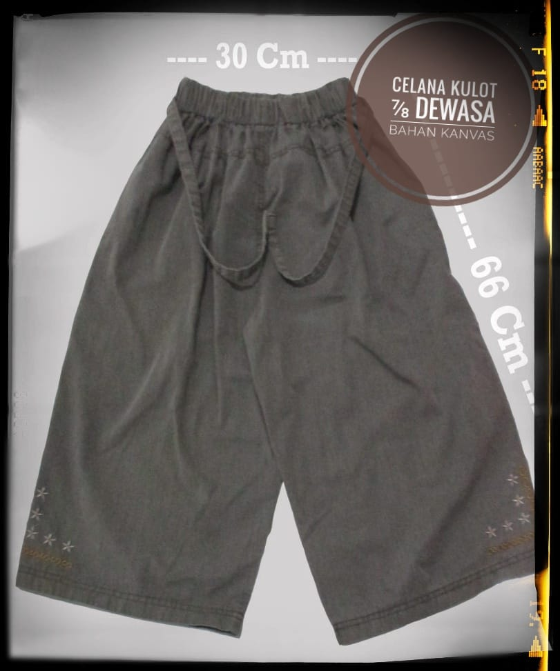 ObralanBaju.com Obral Baju Pakaian Murah Meriah 5000 Celana Kulot Dewasa