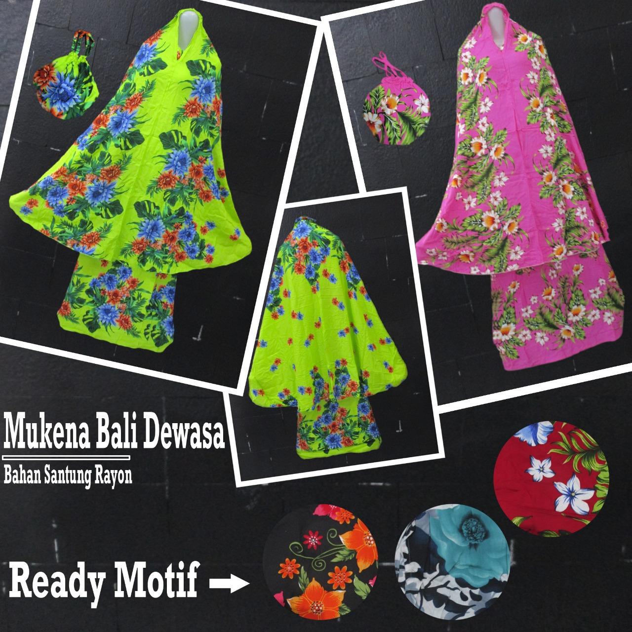ObralanBaju.com Obral Baju Pakaian Murah Meriah 5000 Mukena Bali Dewasa