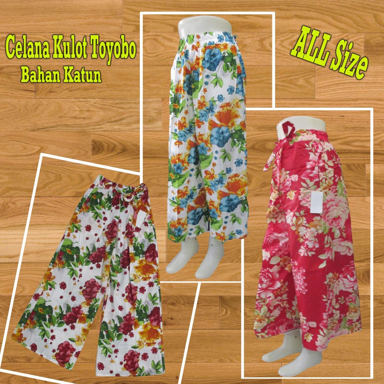 ObralanBaju.com Obral Baju Pakaian Murah Meriah 5000 Celana Kulot Toyobo