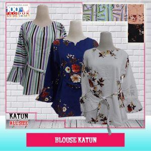 ObralanBaju.com Obral Baju Pakaian Murah Meriah 5000 Blouse Katun Dewsa