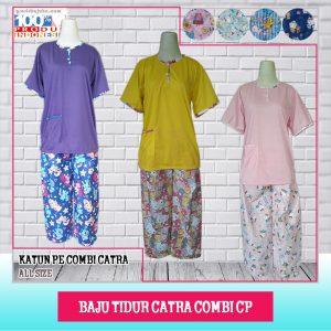Distributor Baju tidur Katun Combi