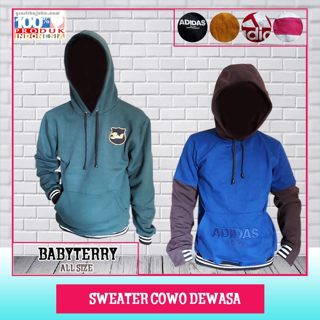 ObralanBaju.com Sweater Cowo Dewasa