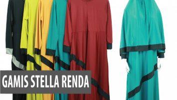 ObralanBaju.com Produsen Gamis Stella Renda Dewasa Murah