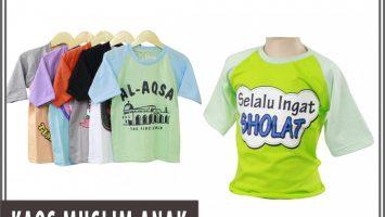 ObralanBaju.com Distributor Kaos Muslim Anak Murah