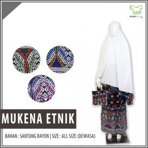 Supplier Mukena Etnik Murah
