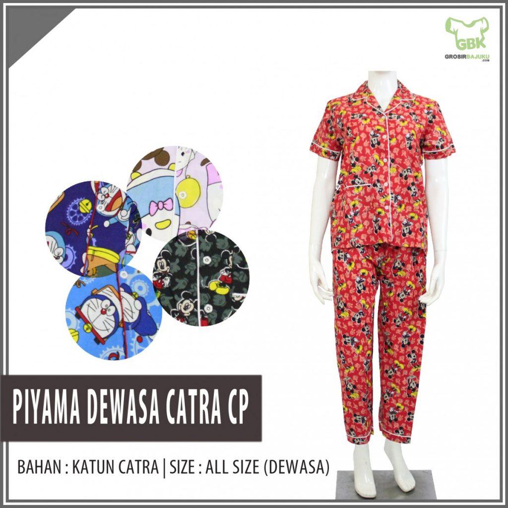 Bisnis Piyama Dewasa Catra Celana Panjang Murah