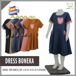 Konveksi Dress Boneka Anak Murah