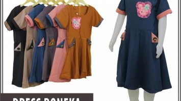 Konveksi Dress Boneka Anak Murah